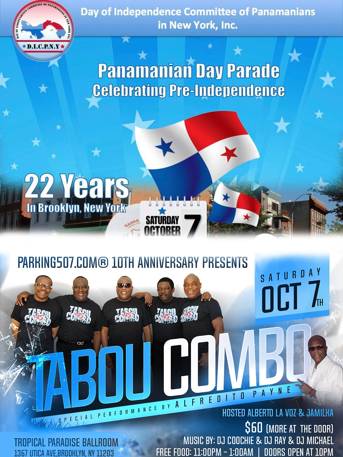 Panamanian Day Parade Brooklyn 2017