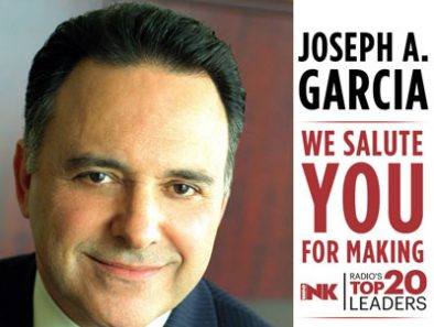 SPANISH BROADCASTING SYSTEM, JOSEPH A. GARCIA NAMED ONE OF RADIO'S TOP 20 LEADERS