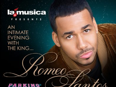 """The King of Bachata """"Romeo Santos"""" in New York, Miami and Los Angeles"""