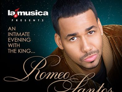 "The King of Bachata ""Romeo Santos"" in New York, Miami and Los Angeles"