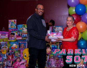 Tashia Life Toy Drive 2017 Brooklyn New York