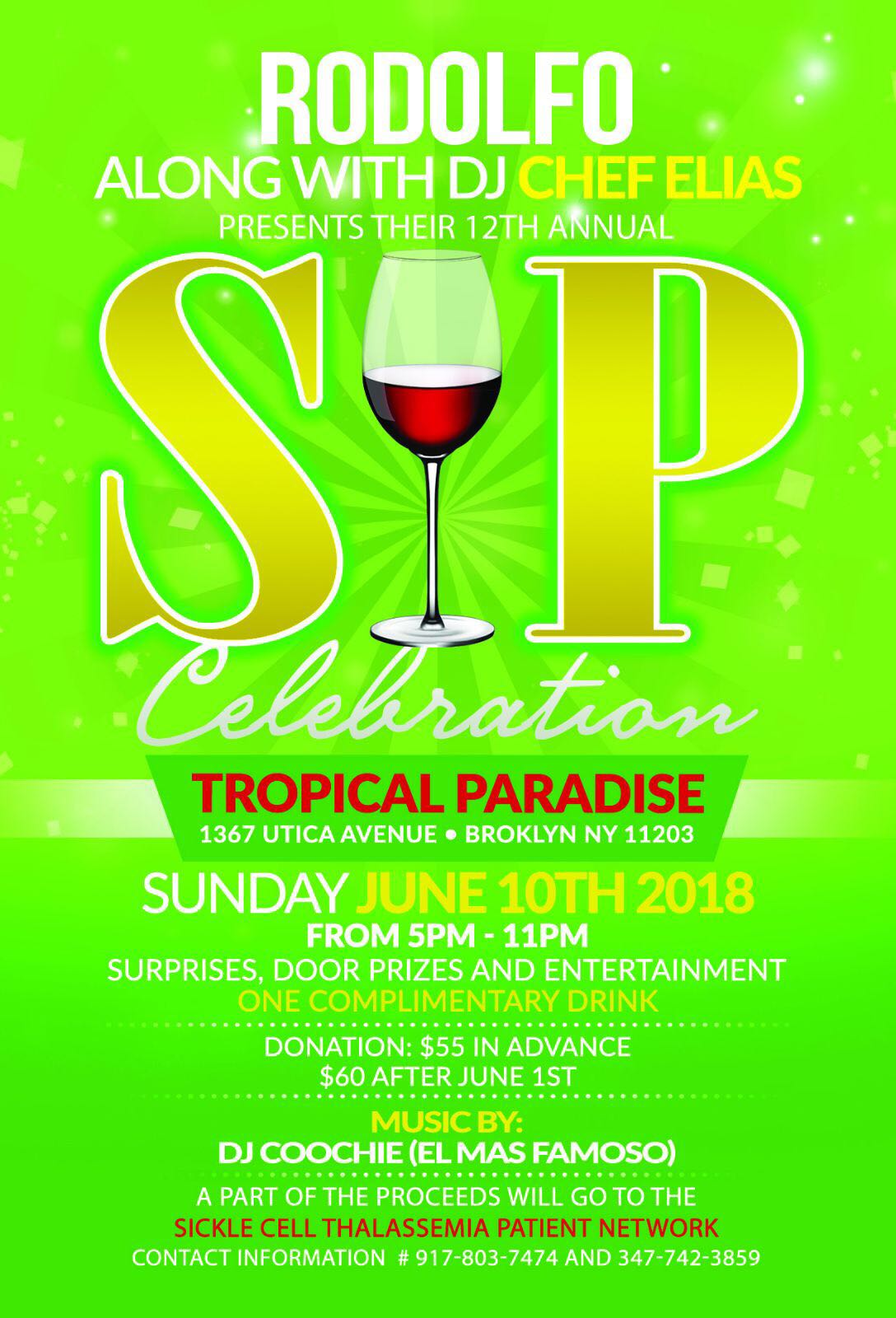 12th Annual SIP Celebration