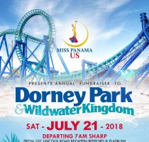 Miss Panama US Annual Fundraiser to Dorney Park & Wildwater Kingdom