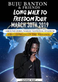 Buju Banton & Friends Long Walk to Freedom Tour