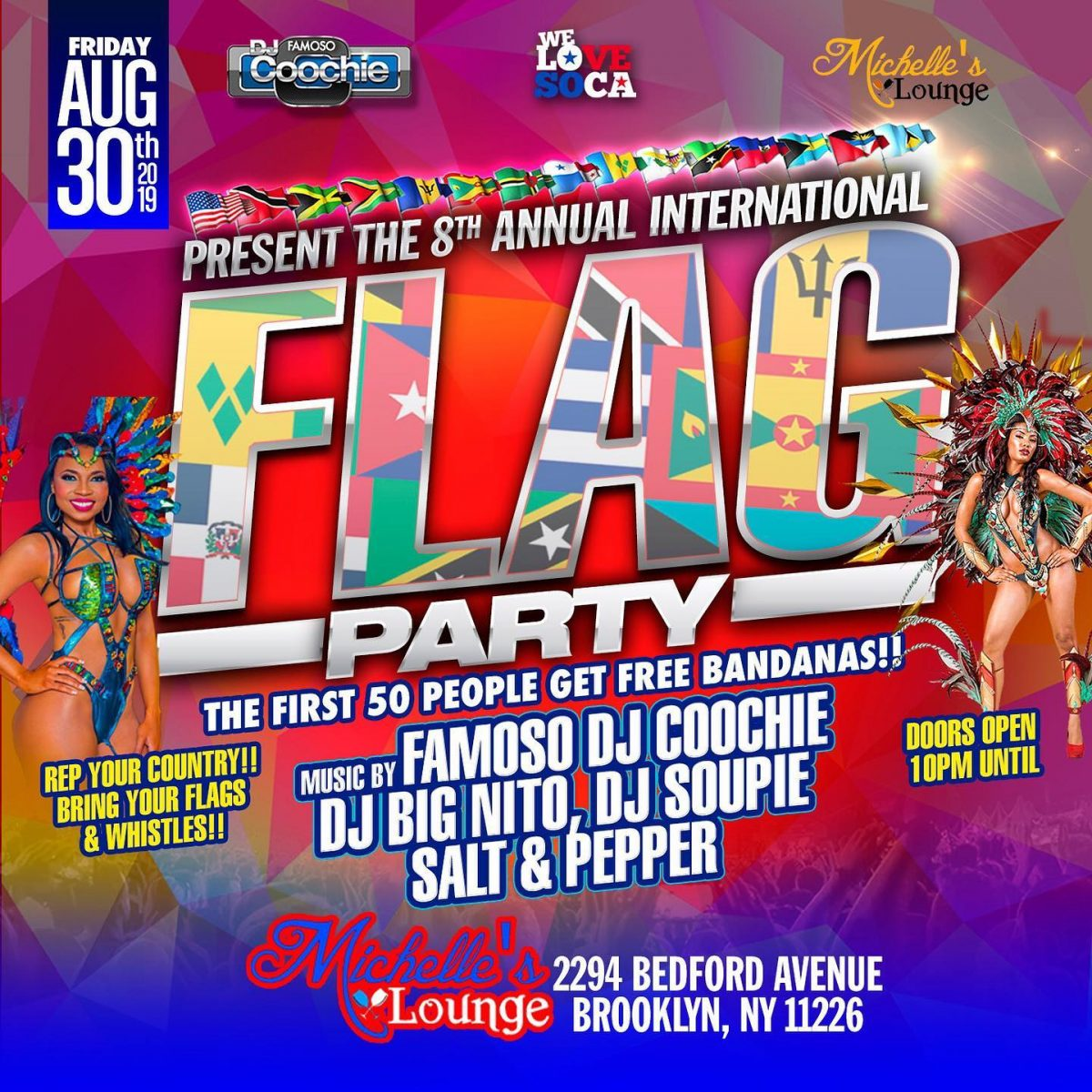 International Flag Party
